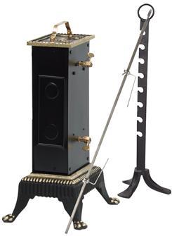 Elektrischer Drehspieß, 30 + 8 Kilo, Abstand 18 cm