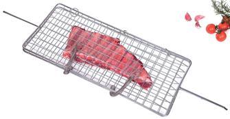 Grillspieß für Fisch, Kotelett, Würstchen usw. Großes Modell