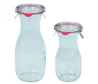 Weck-Flaschen, 500 ml, 6 Stück