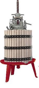 Hydraulische Obstpresse Zentralschraube 667 Liter