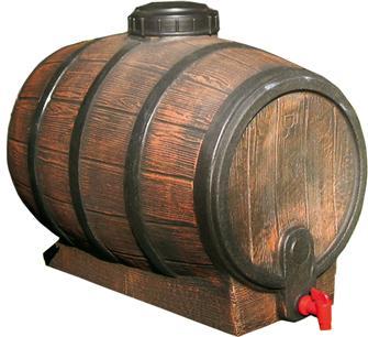 Mostfass, 100 l, in Nachahmung eines Weinfasses