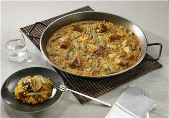 Rezept für valencianische Paella