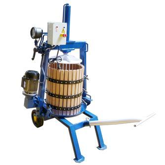 Elektrohydraulische Presse, 128 Liter