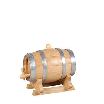 Kleines Eichenfass, 1 Liter