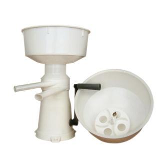 Manuelle Milchzentrifuge/Buttermaschine aus Kunststoff