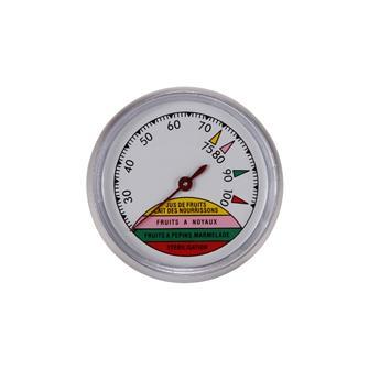 Thermometer mit Skala für Pasteurisierer