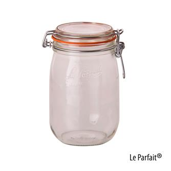 Le Parfait® Einweckglas, 1 Liter, 6 Stück