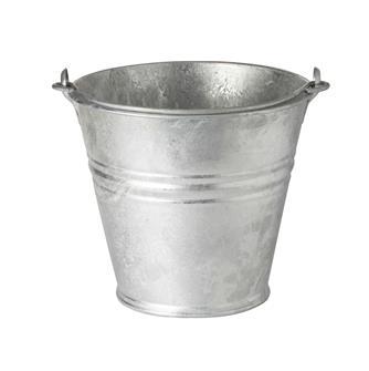 Feuerverzinkter Eimer, 10 Liter
