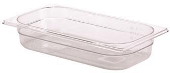 Gastrobehälter BPA-frei, GN1/3, Höhe 6,5cm, aus Copolyester