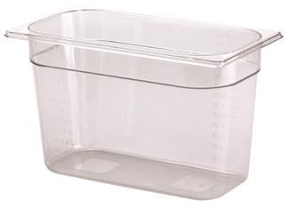Gastrobehälter BPA-frei, GN1/3, Höhe 20cm, aus Copolyester