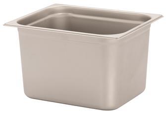 Gastronorm-Behälter Edelstahl, GN1/2, Höhe 20cm, EN631