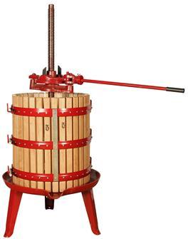 Spindelpresse mit Ratsche 166 Liter
