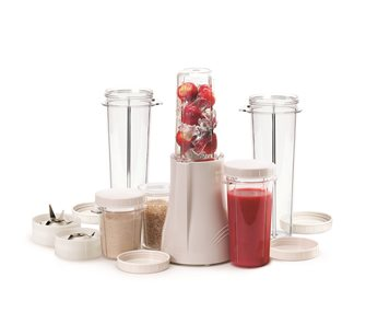 Blender mit 2 Bechern 300 ml, 2 Bechern 150 ml, 2 Bechern 450 ml