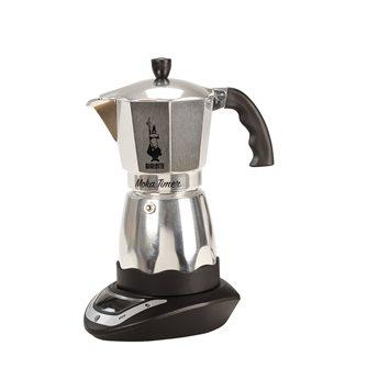 Elektrischer Espressokocher mit Timer für 6 Tassen