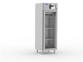 Fleisch-Reifeschrank Edelstahl mit Glastür 500 L