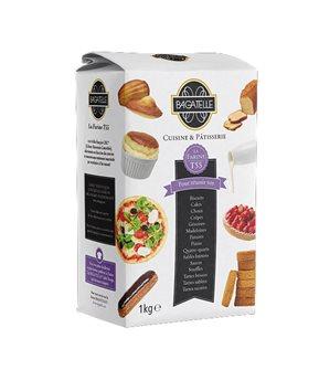 Farine de blé T55 cuisine et pâtisserie agriculture raisonnée