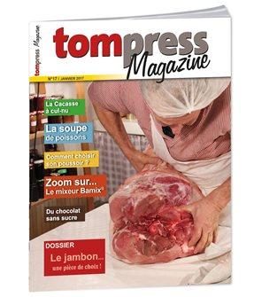 Tom Press Magazine janvier 2017
