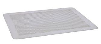 Plaque plate perforée en aluminium dur  40x30 cm