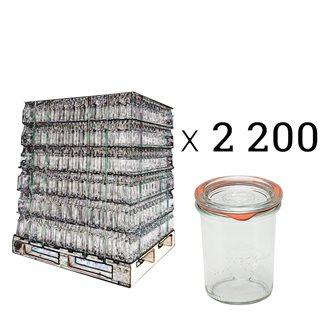 Weck Sturzgläser 160 ml Palette mit 2200 Stück