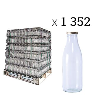 Saftflaschen, Palette mit 1352 Stück