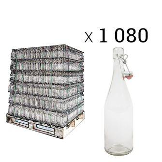 Palette 1080 Limonadenflaschen mit mechanischem Verschluss