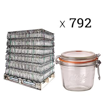 Palette 792 Einmachgläser Le Parfait 500 g