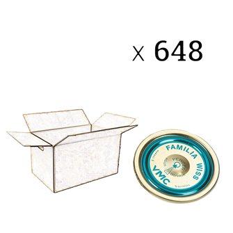 Deckel Familia Wiss® 100 mm, Packung mit 648 Stück