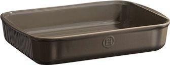 Plat à patisserie rectangulaire céramique gris Silex Emile Henry