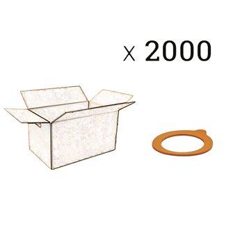Einkoch-Gummiringe 60 mm im Karton