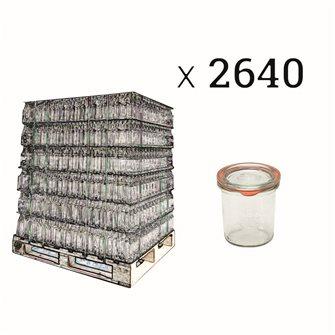 Weck Sturzglas 140 ml Palette 2640 Stück