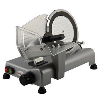 Trancheuse électrique 20 cm Tom Press lame téflonnée et nettoyage facile CE Pro