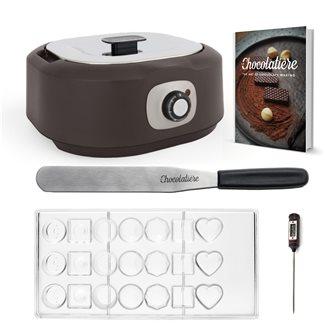 Tempéreuse bain marie électrique pour chocolat