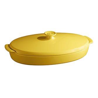 Schmorpfanne aus Keramik Gelbe Provence Emile Henri