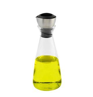 Ölflasche aus Glas 20 cm Höhe