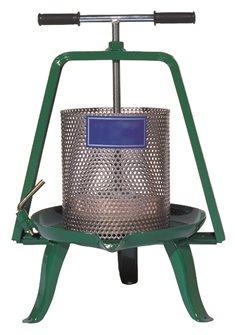 Schneckenpresse 7,5 Liter Edelstahl