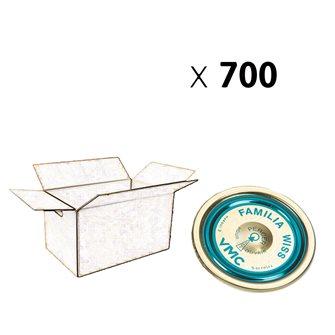 Deckel Familia Wiss® 100 mm, Packung mit 700 Stück