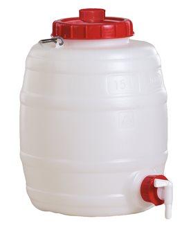 Zylindrisches Fass, 15 Liter