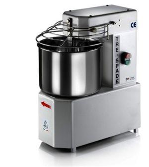 Elektrische Bäckereiknetmaschine mit 10-Liter-Edelstahlkessel