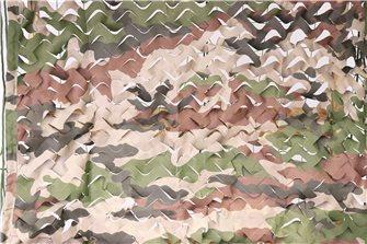Filet de camouflage ou d´ombrage imprimé camouflage 5 x 5 m